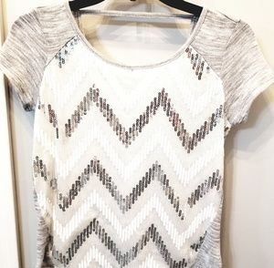 Maurice's NWT sequin front top size XS